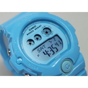BOX訳あり レビュー3年保証 CASIO カシオ Baby-G ベビーG レディース 腕時計 BG-6902-2B ライトブルー Energetic Colors エナジェティック・カラーズ 海外モデル|tokeiten|03