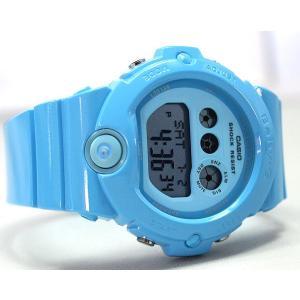 BOX訳あり レビュー3年保証 CASIO カシオ Baby-G ベビーG レディース 腕時計 BG-6902-2B ライトブルー Energetic Colors エナジェティック・カラーズ 海外モデル|tokeiten|05