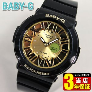ポイント10倍 レビュー3年保証 ベビーG カシオ babyg Baby-G ネオンダイアル 黒 ブラック 腕時計 レディース BGA-160-1B tokeiten