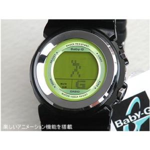 カシオ babyg ベビーG Baby-G BGD-100-1B ブラック×グリーン レディース 腕時計 Baby-G ベビーG|tokeiten|04