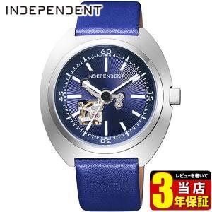 歩数計付 シチズン インディペンデント 腕時計 メンズ 自動巻き メカニカル 防水 10気圧 BJ3-616-70 CITIZEN INDEPENDENT 国内正規品 限定モデル 革ベルト|tokeiten