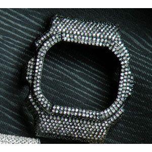 DW5600専用 ORIGIN BKカスタムカバー パーツ単品 ブラックメンズ 腕時計|tokeiten