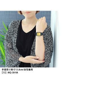 メール便で送料無料 CASIO カシオ 腕時計 チプカシ チープカシオ レディース メンズ MQ-27 LQ-142 2A 7A 9A ブルー ホワイト ゴールド  ブラック|tokeiten|06