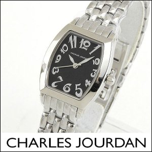 レビュー送料無料 Charles Jourdan シャルルジョルダン アナログ レディース 腕時計 ウォッチ 黒 ブラック 銀 シルバー CJ132-22-1 132.22.1|tokeiten