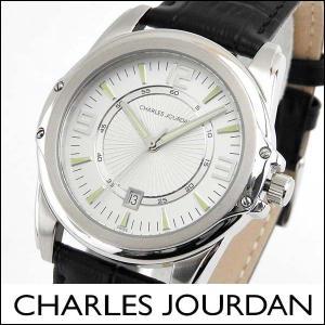 Charles Jourdan シャルルジョルダン CJ140-12-6 140.12.6 海外モデル メンズ 腕時計 ウォッチ 黒 ブラック 銀 シルバー|tokeiten