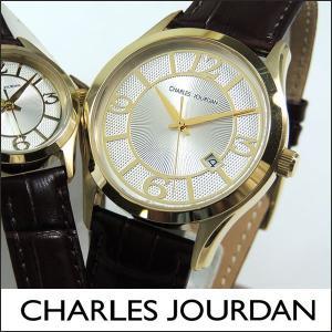 Charles Jourdan シャルルジョルダン CJ163-11-6 163.11.6 メンズ 腕時計 時計 ブラウン 茶色 ゴールド|tokeiten