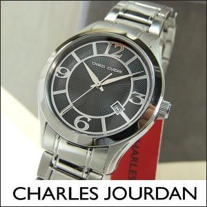 Charles Jourdan シャルルジョルダン CJ163-12-2 163.12.2 海外モデル メンズ 腕時計 時計 ブラック 黒 シルバー|tokeiten