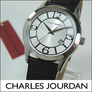 Charles Jourdan シャルルジョルダン CJ163-12-6 163.12.6 海外モデル メンズ 腕時計 時計 ブラック 黒 シルバー|tokeiten