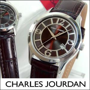 Charles Jourdan シャルルジョルダン CJ163-12-7 163.12.7 海外モデル メンズ 腕時計 時計 ブラウン 茶色|tokeiten