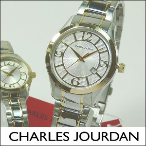 Charles Jourdan シャルルジョルダン CJ163-13-1 163.13.1 海外モデル メンズ 腕時計 時計 シルバー ゴールド 金|tokeiten