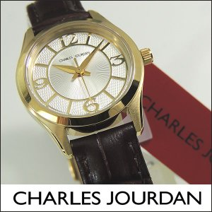 Charles Jourdan シャルルジョルダン CJ163-21-6 163.21.6 海外モデル レディース 腕時計 時計 ゴールド ブラウン 茶色|tokeiten