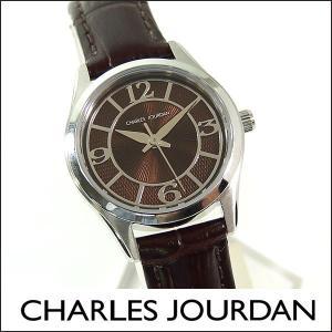 Charles Jourdan シャルルジョルダン CJ163-22-7 163.22.7 海外モデル レディース 腕時計 時計 ブラウン 茶色|tokeiten