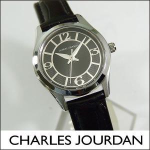 Charles Jourdan シャルルジョルダン CJ163-22-8 163.22.8 海外モデル レディース 腕時計 時計 ブラック 黒 シルバー|tokeiten