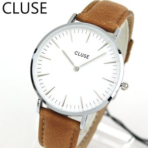 CLUSE クルース La Boheme ラ・ボエーム CL18211 海外モデル レディース 腕時計 38mm 茶 キャメル 革バンド レザー カジュアル tokeiten