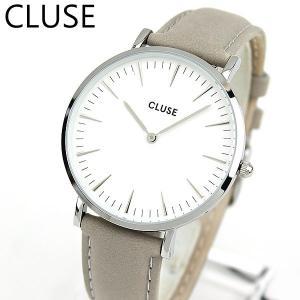 CLUSE クルース La Boheme ラ・ボエーム CL18215 海外モデル アナログ レディース 腕時計 ウォッチ 38mm グレー 革バンド レザー カジュアル tokeiten