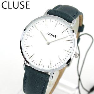 CLUSE クルース La Boheme ラ・ボエーム CL18216 海外モデル レディース 腕時計 38mm 青 ネイビー 革バンド レザー カジュアル tokeiten
