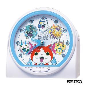 先着8%OFFクーポン SEIKO セイコークロック キャラクター 妖怪ウォッチ CQ139W 国内正規品 キッズ 子供用 おしゃべり目覚まし 目覚し めざまし 置時計 tokeiten