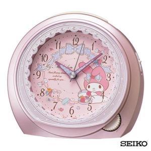 先着8%OFFクーポン SEIKO セイコークロック キャラクター マイメロディ CQ143P 国内正規品 目覚まし 目覚し めざまし 置き時計 サンリオ かわいい ピンク tokeiten