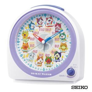 先着8%OFFクーポン SEIKO セイコークロック キャラクター 妖怪ウォッチ CQ145W 国内正規品 キッズ 子供用 目覚まし めざまし 目覚し 置時計 tokeiten