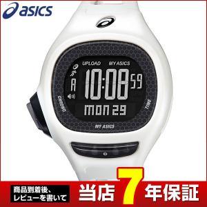 レビュー7年保証 SEIKO セイコー asics アシックス CQAP0203 国内正規品 デジタル メンズ 腕時計 黒 ブラック ホワイト ウレタン ランニング スポーツ|tokeiten
