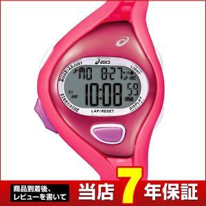ポイント最大27倍 ASICS asics アシックス CQAR0504ピンク/ピンクASICS RUNNING WATCHAR05for Fun Racer5気圧防水・100LAPメモリー|tokeiten