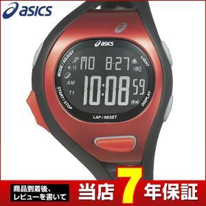 25日から最大31倍 レビュー7年保証 SEIKO セイコー asics アシックス クオーツ CQAR0711 国内正規品 デジタル メンズ 腕時計 黒 ブラック 赤 レッド ウレタン|tokeiten