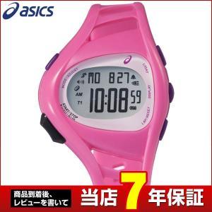 ポイント最大27倍 SEIKO セイコー asics アシックス CQAR0904 国内正規品 デジタル メンズ 腕時計 ピンク ウレタン バンド ランニング スポーツ|tokeiten