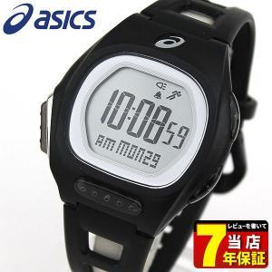 ポイント最大27倍 asics アシックス CQAR1001 国内正規品 デジタル メンズ レディース 腕時計 ブラック ランニング スポーツ ポリウレタン バンド|tokeiten