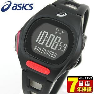 ポイント最大27倍 asics アシックス CQAR1004 国内正規品 デジタル メンズ レディース 腕時計 ブラック ランニング スポーツ ポリウレタン バンド|tokeiten