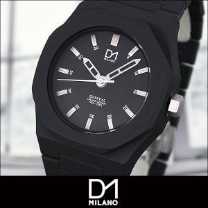 D1 MILANO ディーワンミラノ ES-01N 海外モデル ESSENTIAL エッセンシャル メンズ 腕時計 ウォッチ 黒 ブラック|tokeiten