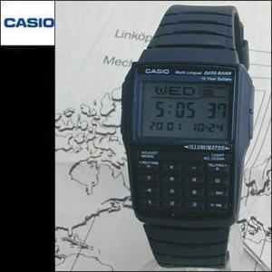 CASIO電池10年のカシオデータバンクDBC-32-1A レトロ&レアウレタンバンド