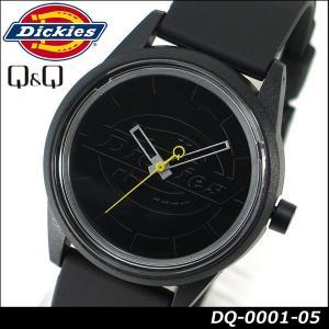 Dickies ディッキーズ Q&Q ソーラー スマイルソーラー アナログ 正規品 DQ-0001-05 ブラック 黒 tokeiten