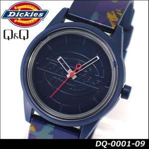 Dickies ディッキーズ Q&Q ソーラー スマイルソーラー アナログ 正規品 DQ-0001-09 ネイビー 紺 tokeiten