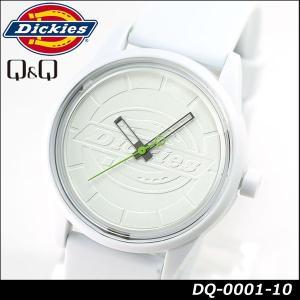 Dickies ディッキーズ Q&Q ソーラー スマイルソーラー アナログ 正規品 DQ-0001-10 ホワイト 白 tokeiten