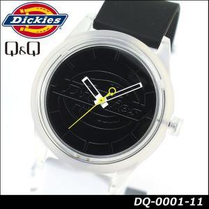 Dickies ディッキーズ Q&Q ソーラー スマイルソーラー アナログ 正規品 DQ-0001-11 ホワイト ブラック 白 黒 tokeiten