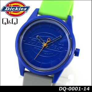Dickies ディッキーズ Q&Q ソーラー スマイルソーラー アナログ 正規品 DQ-0001-14 グレー ブルー グリーン 青 緑 tokeiten