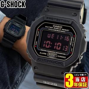 Gショック G-SHOCK ジーショック g-shock gショック DW-5600MS-1 マットブラック 黒 G-SHOCK メンズ 腕時計 逆輸入|tokeiten