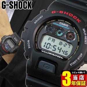 レビュー3年保証 G-SHOCK BASIC カシオ Gショック ジーショック ブラック 黒 人気 ランキング 腕時計 メンズ CASIO 時計 DW-6900-1 逆輸入|tokeiten