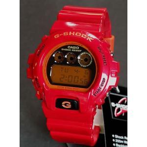 レビュー3年保証 Gショック G-SHOCK BASIC Crazy Colors 人気 腕時計 メンズ CASIO カシオ ジーショック DW-6900CB-4 レッド|tokeiten