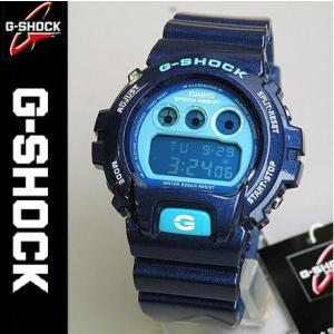 G-SHOCK Crazy Colors Gショック ジーショック g-shock gショック DW-6900CC-2メタリックブルーG-SHOCK Crazy Colorsクレイジーカラーズメンズ腕時計|tokeiten