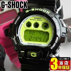 レビュー3年保証 CASIO カシオ G-SHOCK BASIC Gショック ジーショック クレイジーカラー 黒 DW-6900CS-1 メンズ 腕時計 新品 時計 多機能 防水|tokeiten