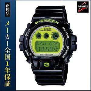 CASIO カシオ G-SHOCK BASIC Gショック クレイジーカラー Crazy Colors DW-6900CS-1JF メンズ 腕時計 ウォッチ スラッシャー 黒 ブラック|tokeiten