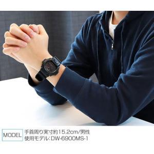 G-SHOCK BASIC Gショック ジーショック DW-6900MS-1マットブラック 黒 レッドアイ BASIC スラッシャー メンズ 腕時計 逆輸入 tokeiten 02