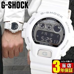 レビュー3年保証 G-SHOCK BASIC Gショック ジーショック カシオ ホワイト 白 DW-6900NB-7 メンズ 腕時計 メタリックカラーズ 逆輸入|tokeiten