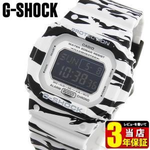 レビュー3年保証 CASIO カシオ G-SHOCK Gショック White and Black Series ホワイト&ブラックシリーズ DW-D5600BW-7 海外モデル メンズ 腕時計