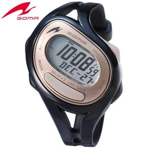 ポイント最大27倍 SEIKO セイコー SOMA ソーマ DWJ23-0002 国内正規品 RunONE ランワン デジタル メンズ レディース 腕時計 黒 ブラック ウレタン|tokeiten