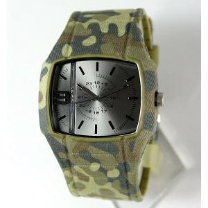DIESEL ディーゼル TROJAN トロージャン デニム メンズ 腕時計 迷彩 カモフラ DZ1671 tokeiten 02