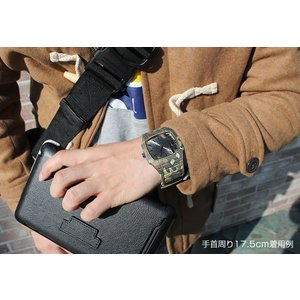 DIESEL ディーゼル TROJAN トロージャン デニム メンズ 腕時計 迷彩 カモフラ DZ1671 tokeiten 06