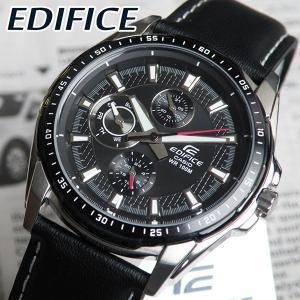 CASIO カシオ 腕時計 EDIFICE エディフィス EF-336L-1A1 ブラック 黒 海外モデル クール スタイリッシュ 日本未発売モデル|tokeiten