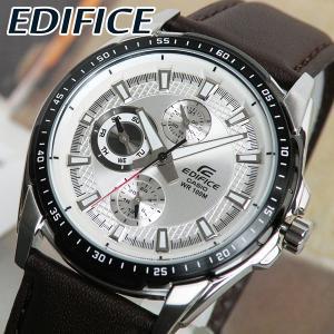 CASIO カシオ 腕時計 時計 EDIFICE エディフィス EF-336L-7A ブラウンバンド 海外モデル クール スタイリッシュ 日本未発売モデル|tokeiten